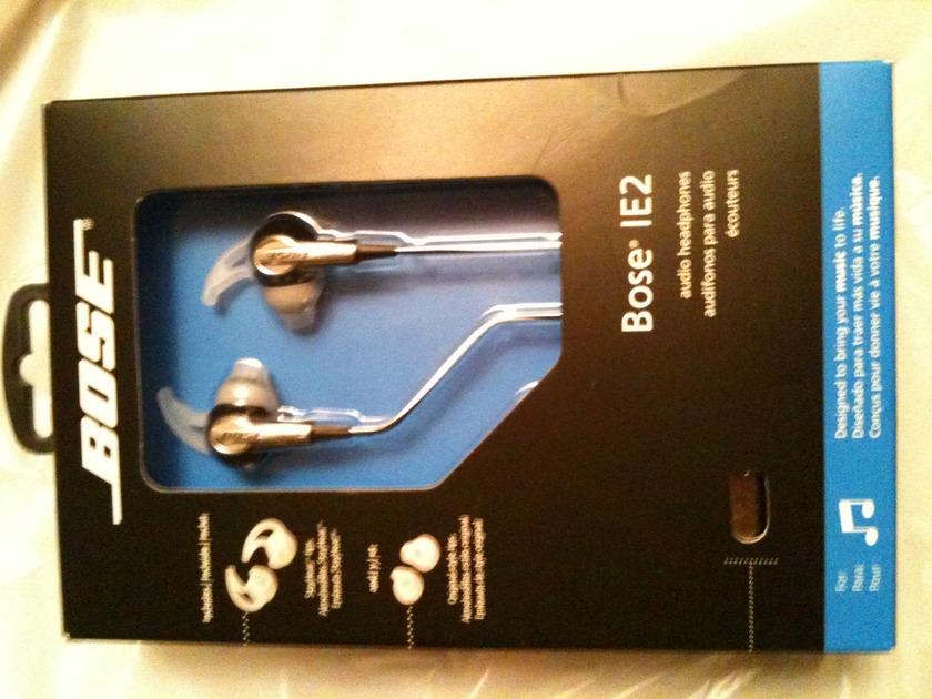 Bose IE2 Audio Headphones Factory Sealed New