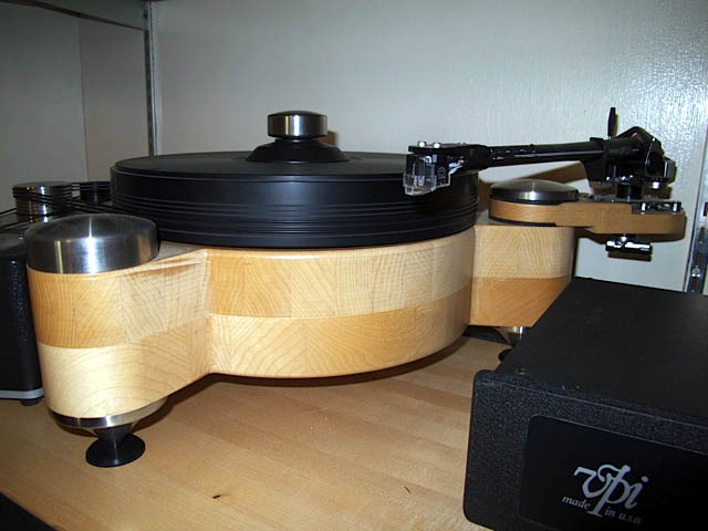 PBN Audio  custom turntable
