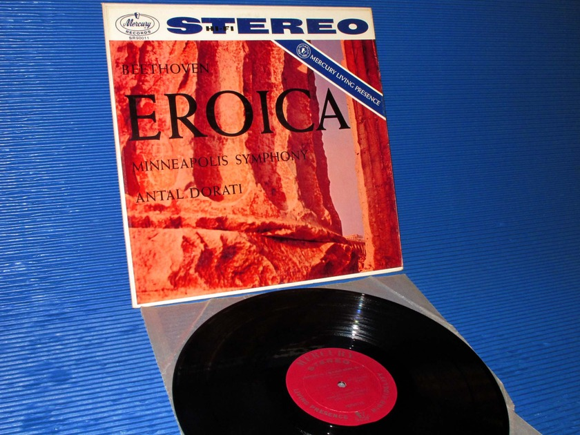 "BEETHOVEN/Dorati - - ""Eroica Symphony"" - Mercury Living Presence 1959 1st pressing"