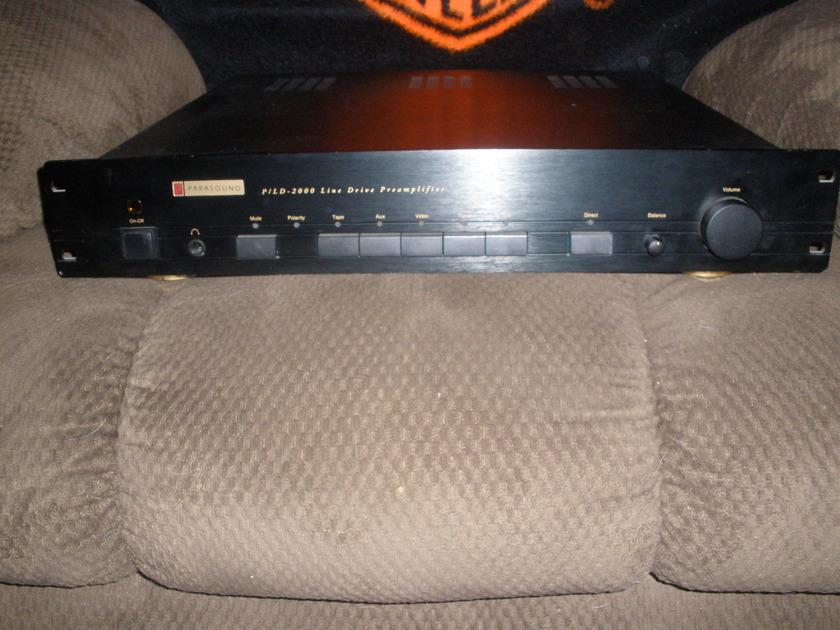 Parasound PL/D-2000