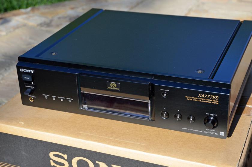 Sony SCD-XA777ES Class A SACD Player