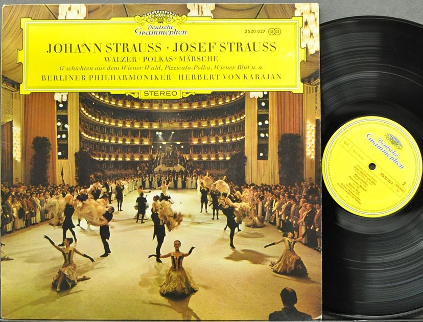 55 Classical LP Records, Mostly Imports, pictures