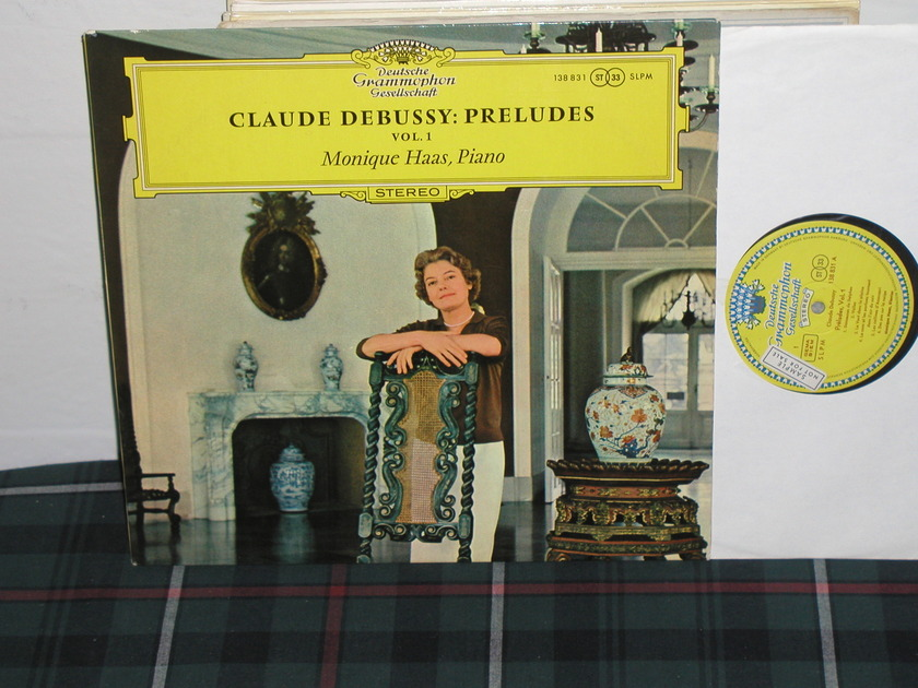 Monique Haas - Debussy: Preludes DGG  TULIP German import