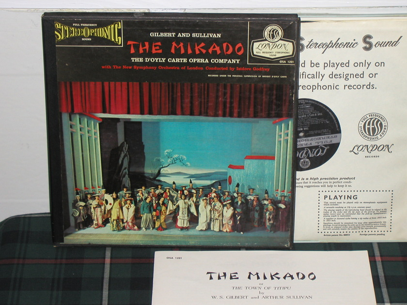 Godfrey/NSOL - G&S Mikado 2LP Blueback London FFSS Blueback osa 1201