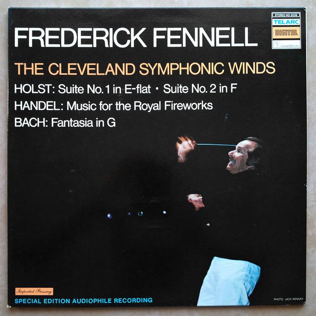 Audiophile Telarc/Fennell/Holst - Suites Nos. 1 & 2, Bach Fantasia, Handel Music for the Royal Fireworks / NM
