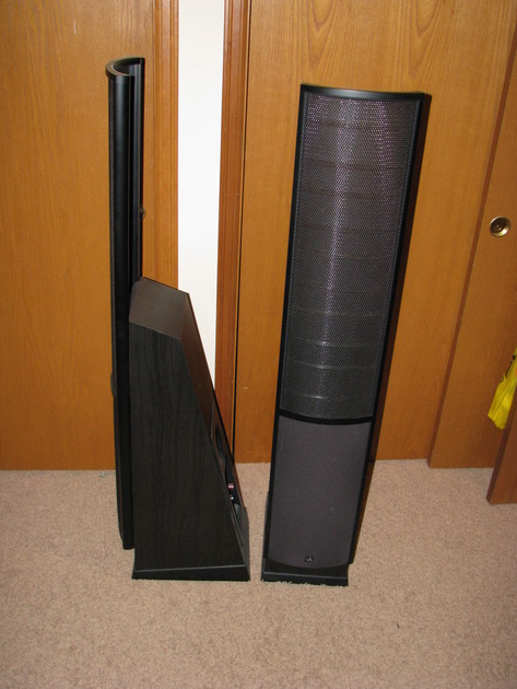 Martin Logan Purity , can be run from a line level output or speaker level output, your choice. You can even hook them up straight to your Ipod!!