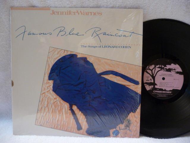 JENIFFER WARNES - FAMOUS BLUE RAINCOAT AUDIOPHILE LP