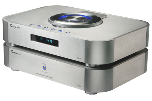 RAYSONIC AUDIO  CD-228 TUBE CD PLAYER AWARD WINNING! CLASS A