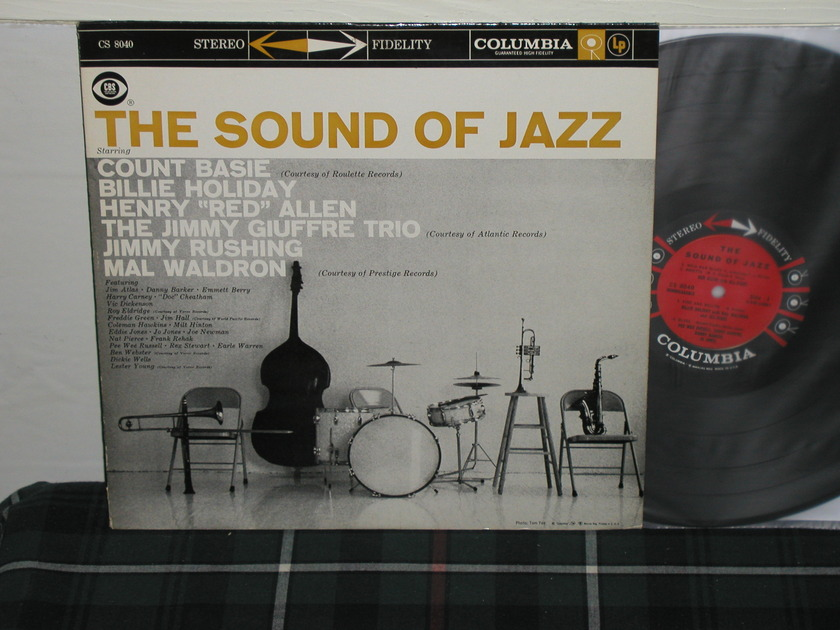 Basie/Billie Holiday/Coleman - The Sound Of Jazz (Pics) Columbia 6 eye STEREO