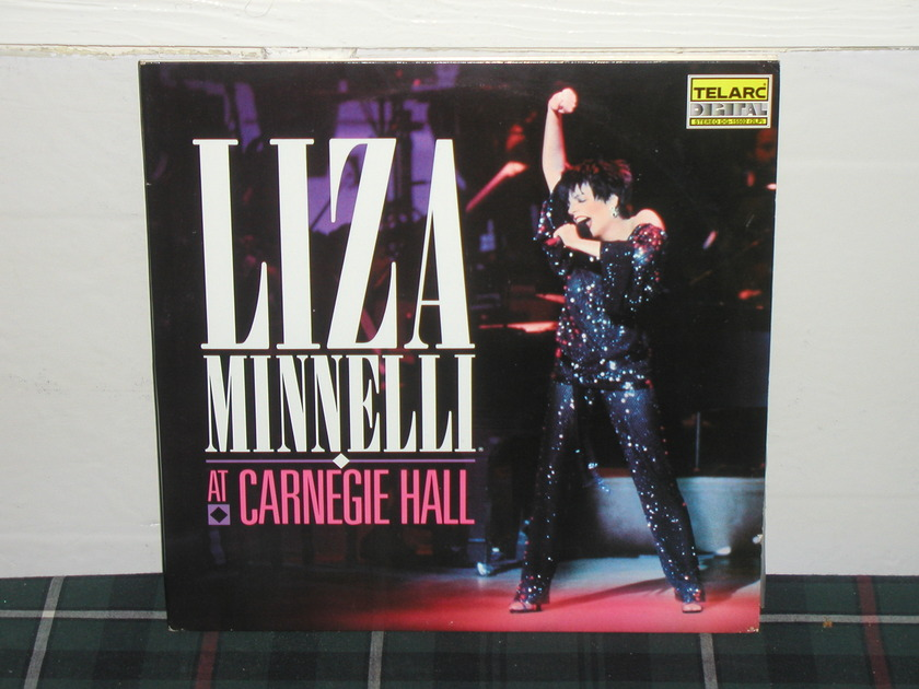 Liza Minelli - At Carnegie Hall (Pics) Telarc dg-15502 (2 lp)