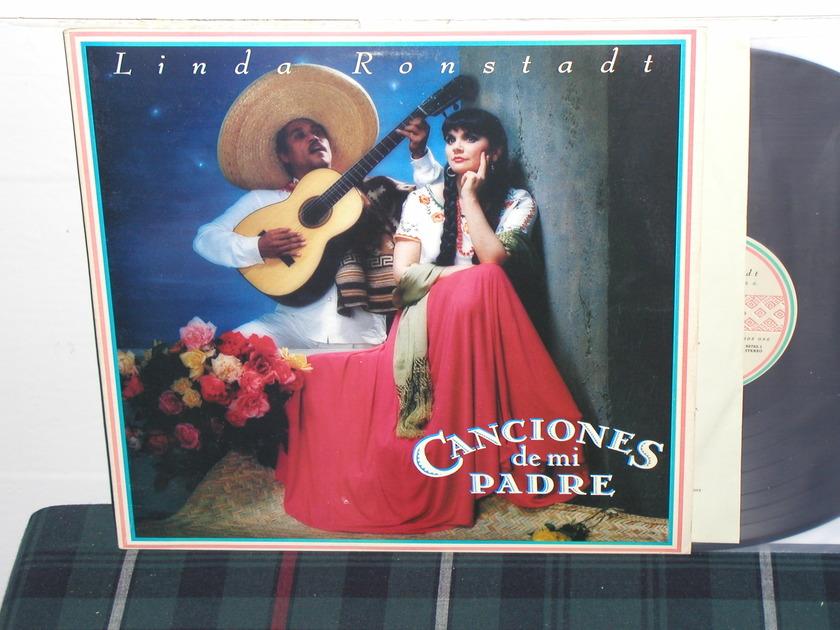 Linda Ronstadt - Canciones de mi Padre (Pics) Asylum from 1987!