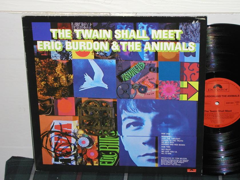 Eric Burdon/Animals - The Twain Shall Meet (Pics) Polydor German import