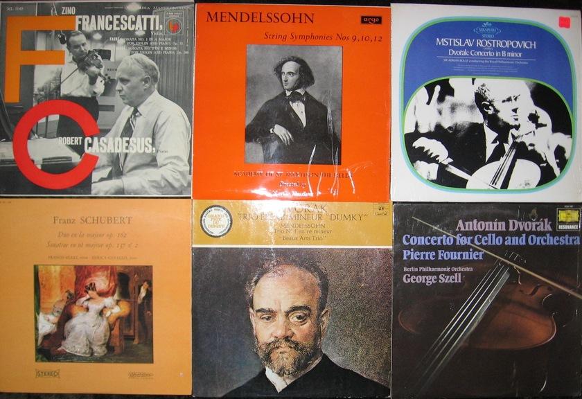 30 Classical Lp Collection - Cello, Violin, Strings Yo-Yo Ma , Heifetz etc..