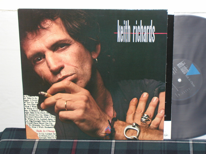 Keith Richards - Talk Is Cheap (Scarce) From 1988!