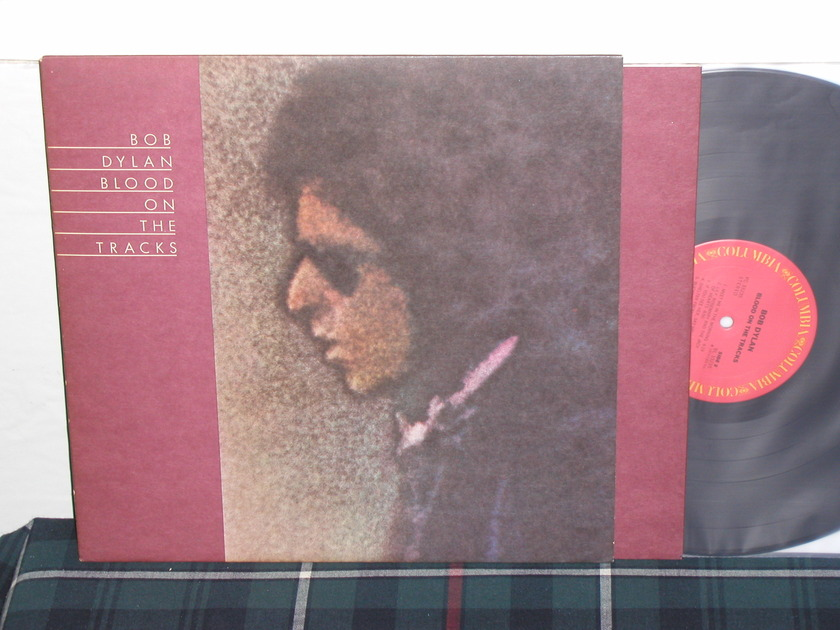 Bob Dylan Blood On The Tracks - 1st press w/Mural back incl Columbia PC 33225