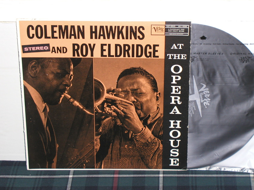 Coleman Hawkins/Roy Eldridge - At The Opera House STEREO Verve STEREO from 60's