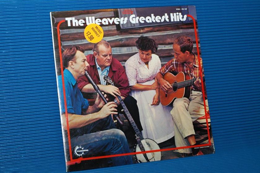 "THE WEAVERS -  - ""The Weavers Greatest Hits"" -  Vanguard 2 LP 1971 Sealed"