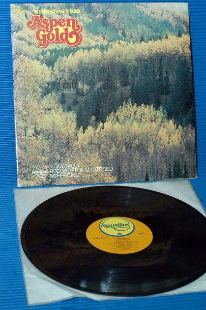 """THE KINGSTON TRIO -  - """"Aspen Gold"""" -  Nautilus Digital 1979"""