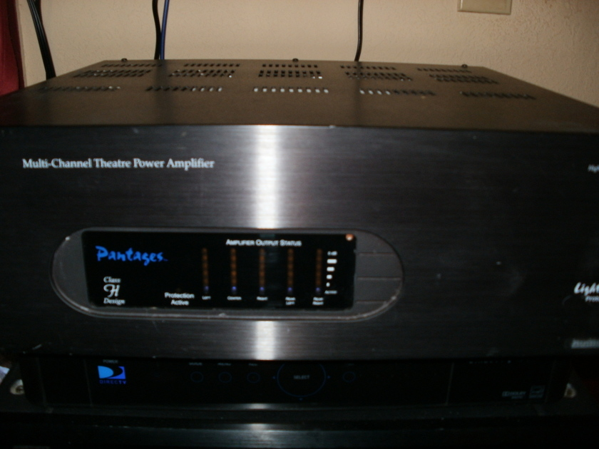Multi Channel Home Theater Amplifier Pantages Hi def