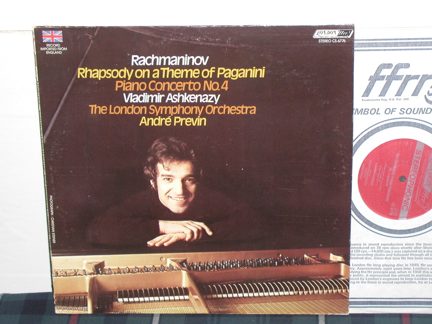 Ashkenazy/Previn/LSO - Rachmaninoff Rhapsody on A Theme of Paganini London/UK CS 6776