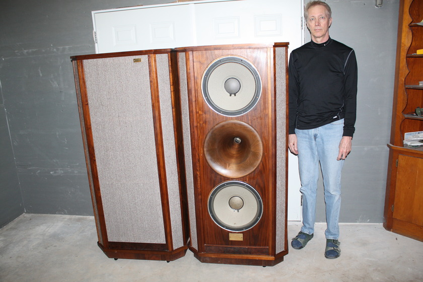 TAD driver custom speakers  made by Kevin Brooks