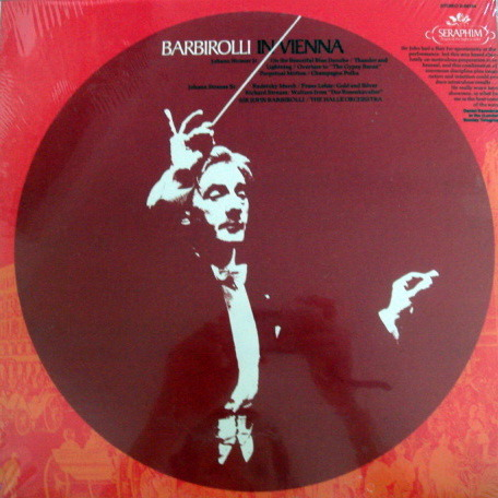 ★Sealed★ EMI SERAPHIM / - BARBIROLLI in Vienna!