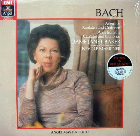 ★Sealed★ EMI Angel Digital /  - JANET BAKER,  Arias from Cantatas & Oratorios!