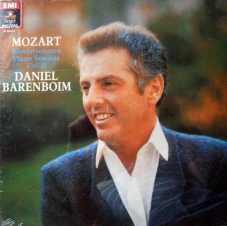 ★Sealed★ EMI Angel Digital / BARENBOIM, - Mozart Piano Sonatas Vo.II, 3LP Box Set!