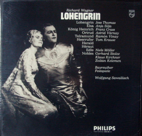 ★Sealed★ Philips / SAWALLISCH, - Wagner Lohengrin, 4LP Box Set!