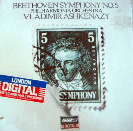 ★Sealed★ London-Decca / - ASHKENAZY, Beethoven Symphony No.5!