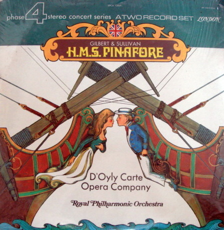 ★Sealed★ London-Decca / - Gilbert & Sullivan HMS Pinafore, 2LP Set!