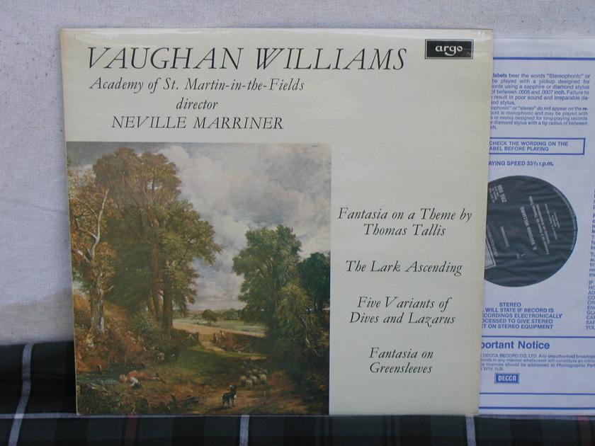 Marriner/Vaughan Williams - Lark Ascending  UK Import Argo ZRG-696