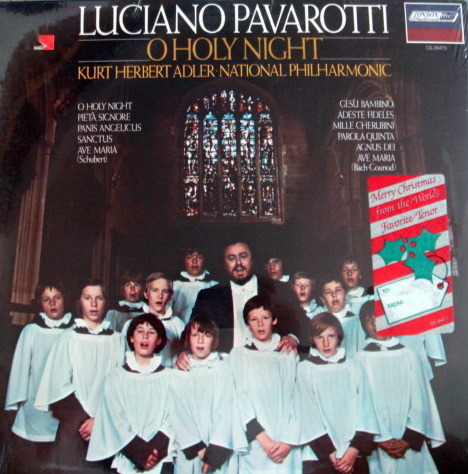 ★Sealed★ London-Decca / - PAVAROTTI, O Holy Night!