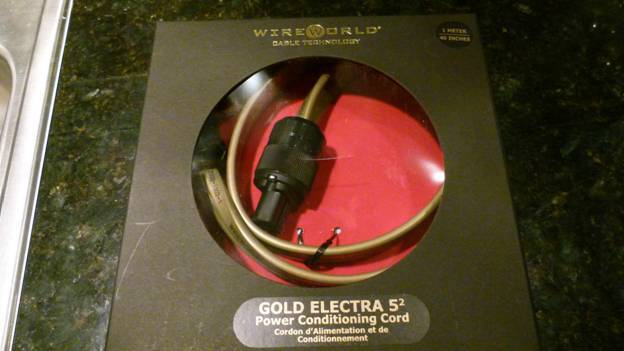 Wireworld Gold Electra Power Cord
