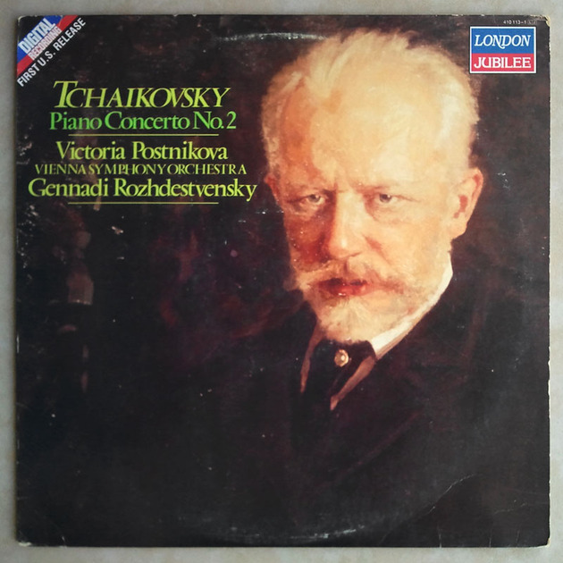 London Digital/Postnikova/Rozhdestvensky/Tchaikovsky - Piano Concerto No. 2 / NM