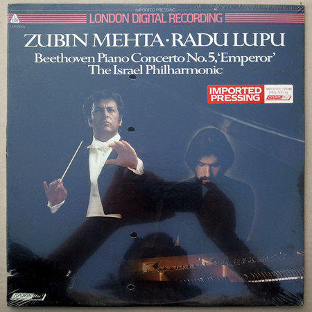 "SEALED/London Digital/Radu Lupu/Beethoven - Piano Concerto No. 5 ""Emperor"""