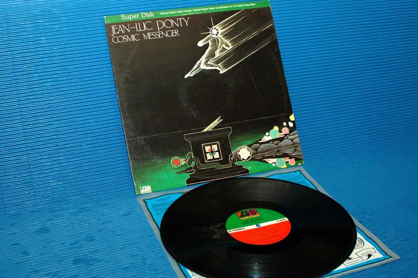 "JEAN-LUC PONTY -  - ""Cosmic Messenger"" - Direct Disk Labs 1980"
