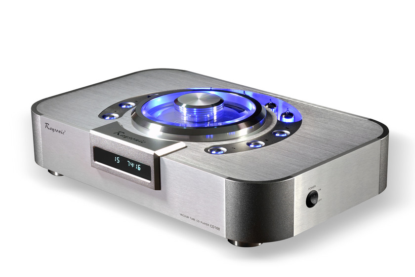 RAYSONIC AUDIO USA CD-168 TUBE CD PLAYER AWARD WINNING!
