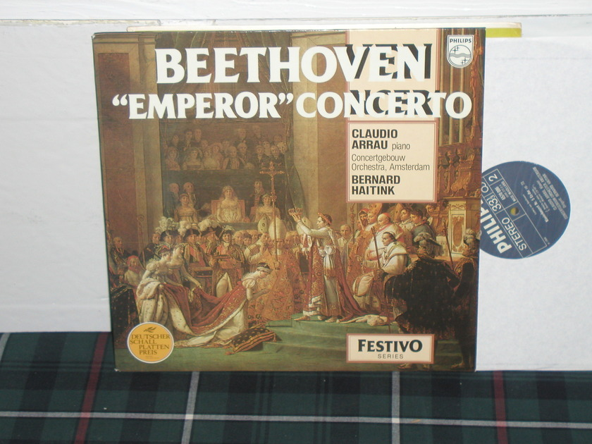 Haitink/Arrau/COA - Beethoven Emperor Philips Import pressing 6570
