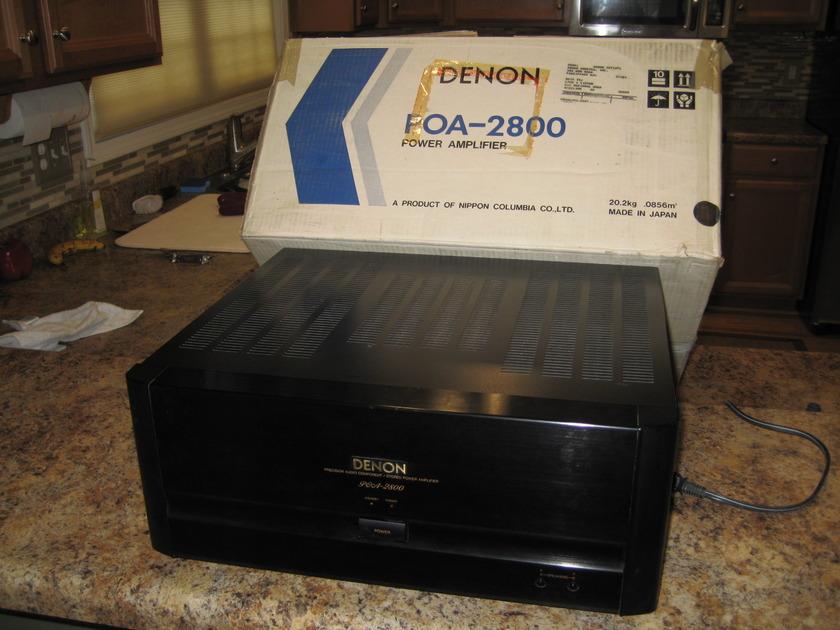 DENON POA-2800 200W per C Amp