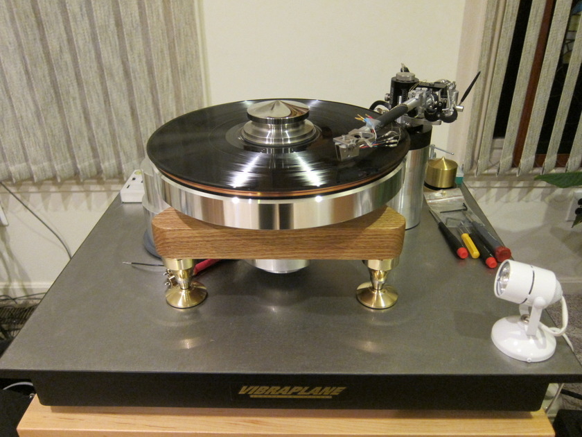 TTWeights Ultra GEM Turntable with Copper Outer Ring