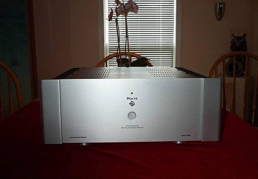 MARSH SOUND DESIGN A400S AMP SILVER