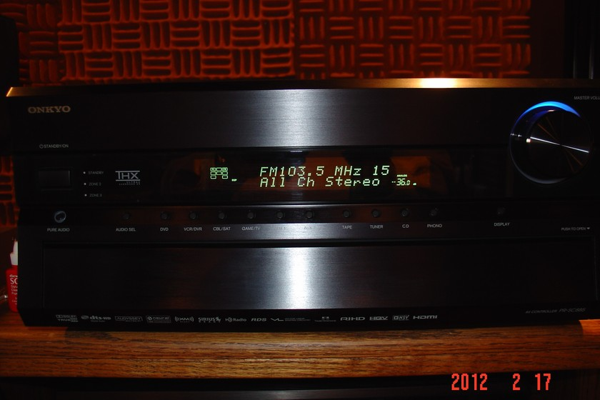 Onkyo PR-SC885 Audio/Video Processor