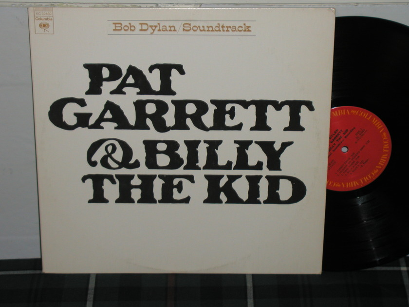 Bob Dylan - Pat Garrett/Billy Kid Embossed cover first press