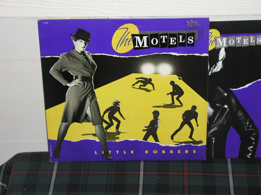 The Motels - Little Robbers Capitol promo on Quiex