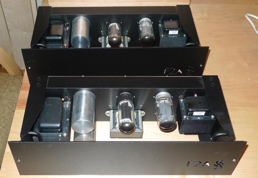 Sean Casper F2A SET Mono Block amps
