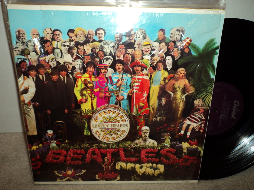 The Beatles - Sgt. Peppers Lonely Hearts Club Band Open Shrink Mint