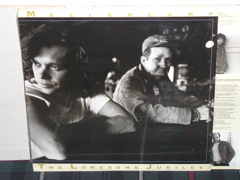 John Mellencamp - The Lonesome Jubilee Mercury LP still in shrink nm