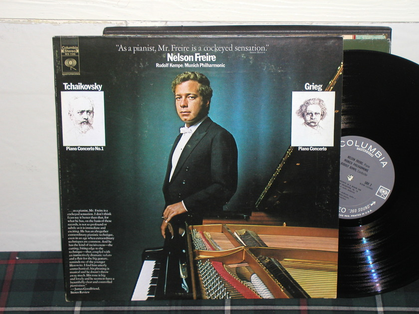 Freire/Kempe/MPO - Tchaikovsky/Grieg Columbia 360 1st labels