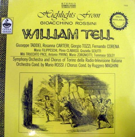 ★Sealed★ Everest /  - ROSSI, Rossini William Tell Highlights!